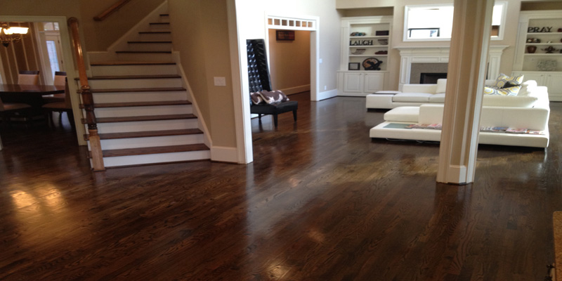 LHardwood floor refinishing in Grayson, GA