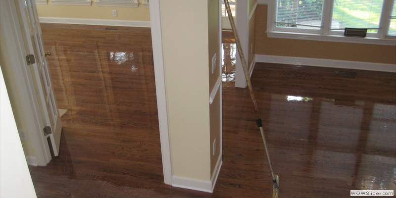Hardwood floor recoating in Alpharetta, GA