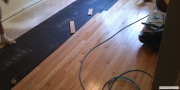 Hardwood floor installation in Alpharetta, GA