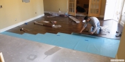 Laminate flooring installation in Buford, GA