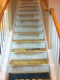 Hardwood Stairs Installation In Lawrenceville, GA