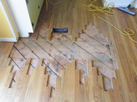 Delightful ... Hardwood Floor Repair In Atlanta / Decatur